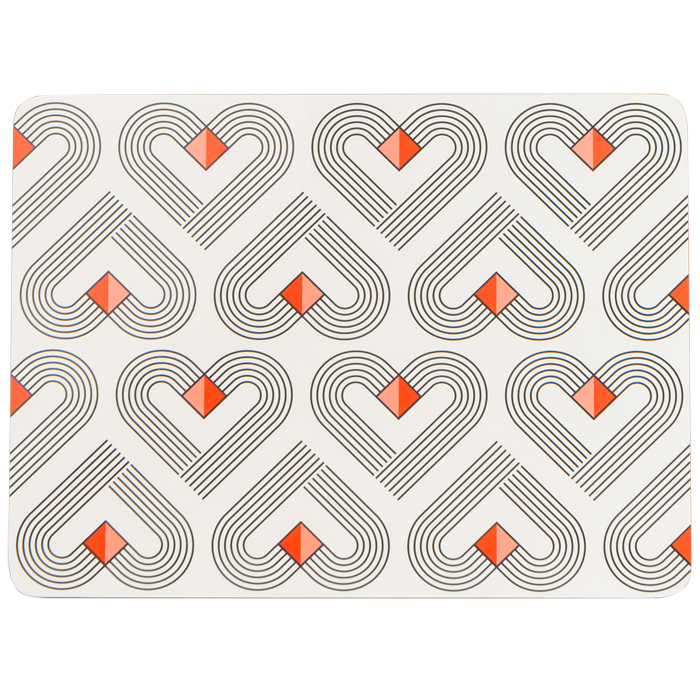VIBE Chalk Placemats Set of 4
