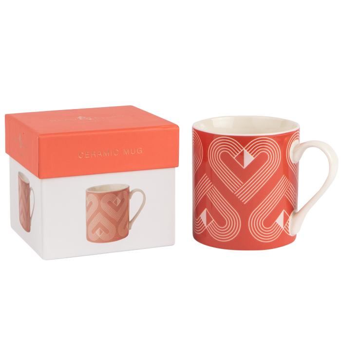 VIBE Coral Mug in Gift Box