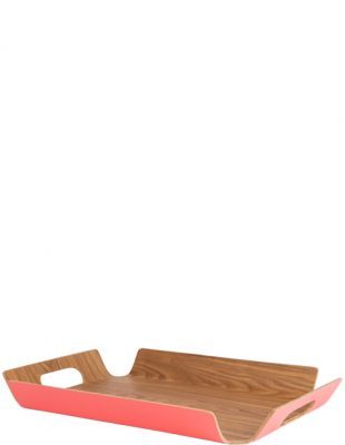 Large Willow Tray - Coral