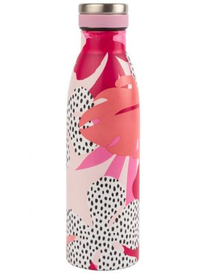 500ml Vacuum Insulated Drinks Bottle Floral