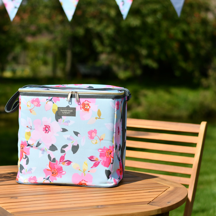 Gardenia Family Cool Bag Sky Blue