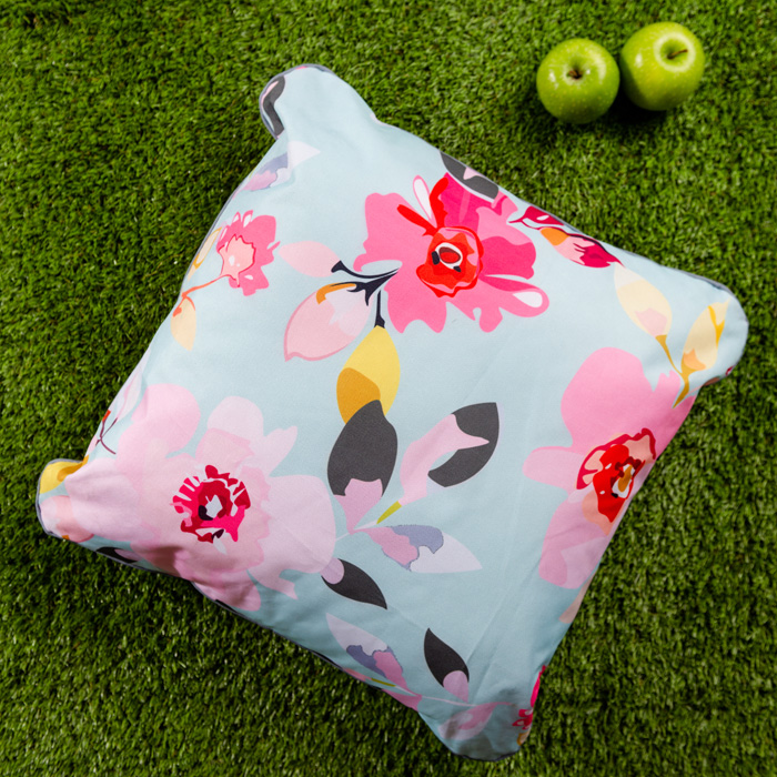 Gardenia Outdoor Cushion Sky Blue