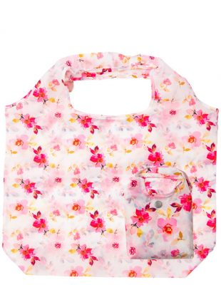 Gardenia White Floral Shopper