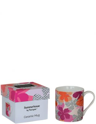 Floral Mug in Gift Box