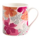 Floral Mug in Gift Box