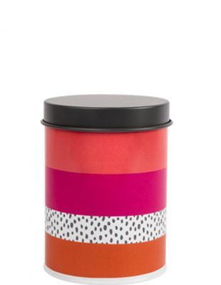 Tribal Fusion Stripe Canister