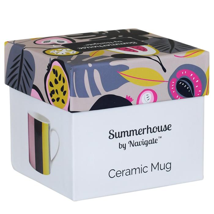 Stripe Mug in Gift Box
