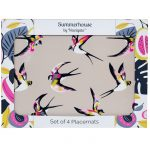 Guatemala Swallows Set of 4 Placemats