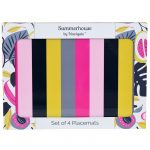 Guatemala Stripe Set of 4 Placemats
