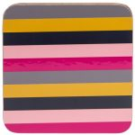 Guatemala Stripe Coasters Set of 4