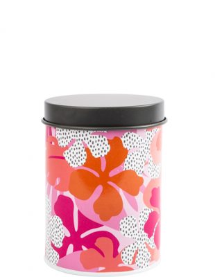 Tribal Fusion Floral Canister