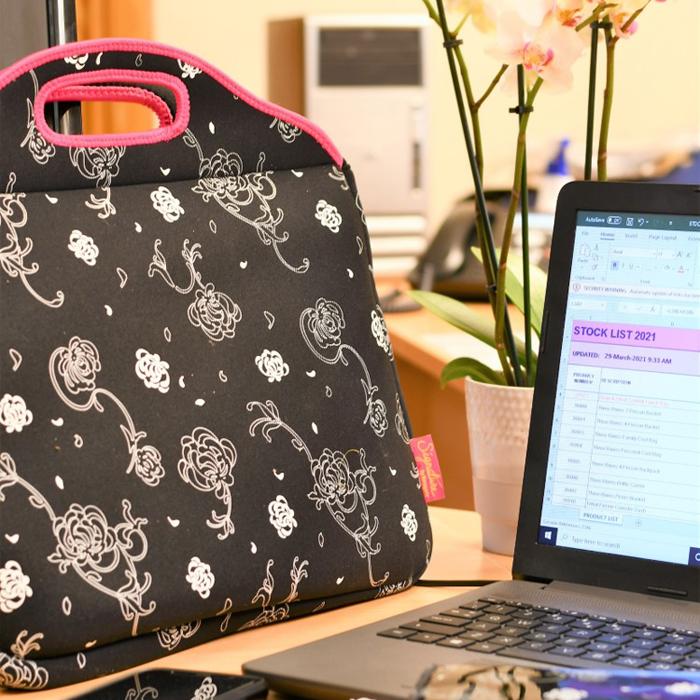 Silhouette Laptop Case