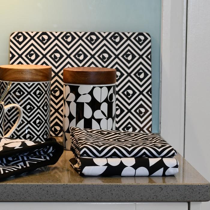 Monochrome Tea Towels